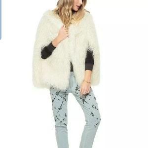 Juicy couture Mongolian hooded Faux fur sz#- S